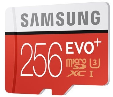 Samsung Electronics Introduces the EVO Plus 256GB MicroSD Card, with the Highest Capacity in its Class