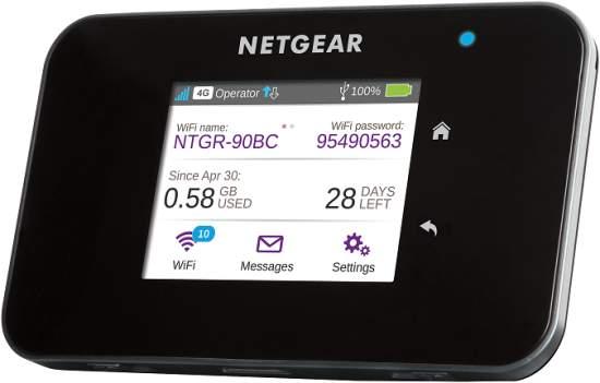 NETGEARpředstavujenejrychlejšímobilnípřístupovýbod